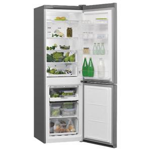 Réfrigérateur avec congélateur en bas w7 8210 ox h