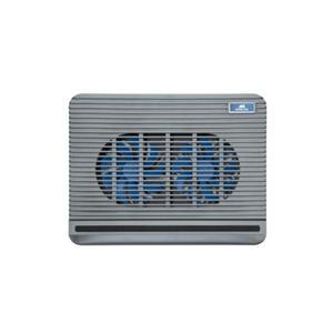 "Ventilateur coolingpad 15.6"" 5555 silver rivacase"