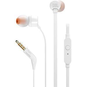 Ecouteurs fil t110 blanc jbl